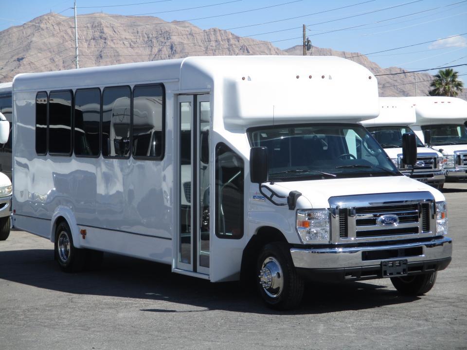2018 Goshen Impulse Shuttle Bus S17327 Lasvegasbussales Com