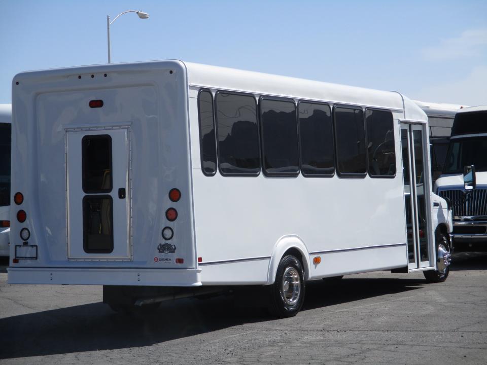 2018 Goshen Impulse Shuttle Bus S06410 Lasvegasbussales Com