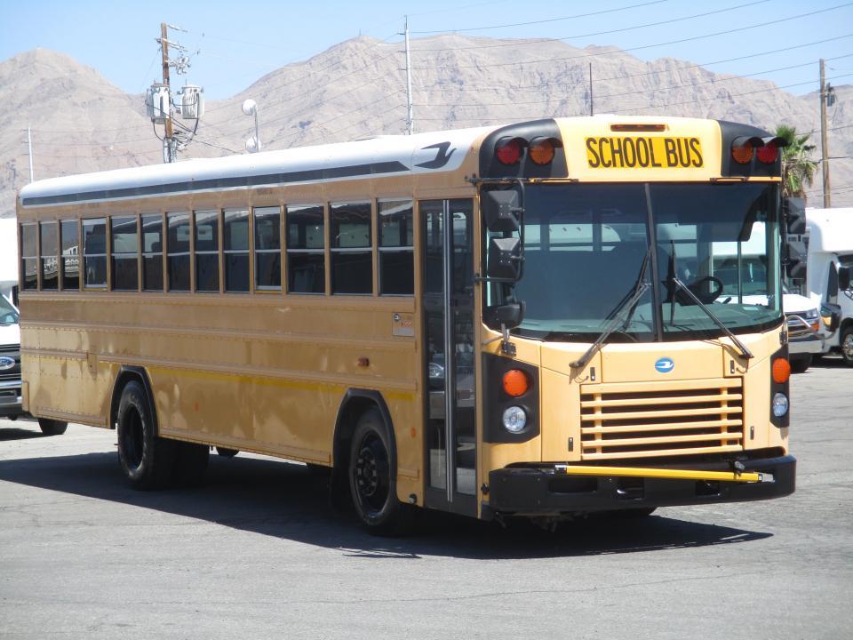 Bluebird School Bus Diesel Engine