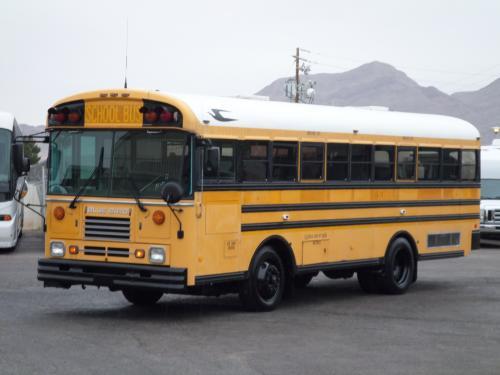 Lasvegasbussales Com Used 2000 Blue Bird Wheelchair