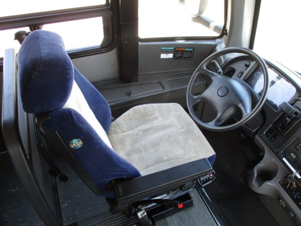 Drivers Seat of 2013 ABC M1235 Shuttle Bus