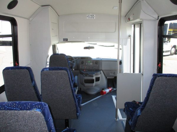 View from Back of 2018 GOSHEN PACER II SHUTTLE BUS