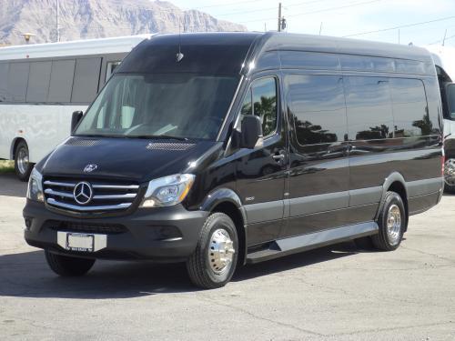 Limo Party Bus For Sale 14 Passenger Battisti Mercedes