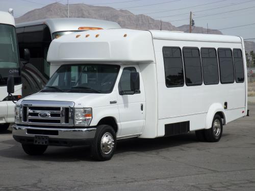Used 2010 Elkhart Coach 25 Passenger Shuttle Bus For Sale