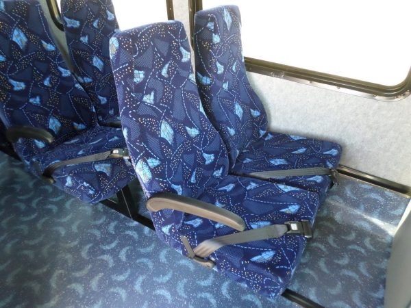Passenger Seats for 2016 KSIR E4-290RL Shuttle Bus