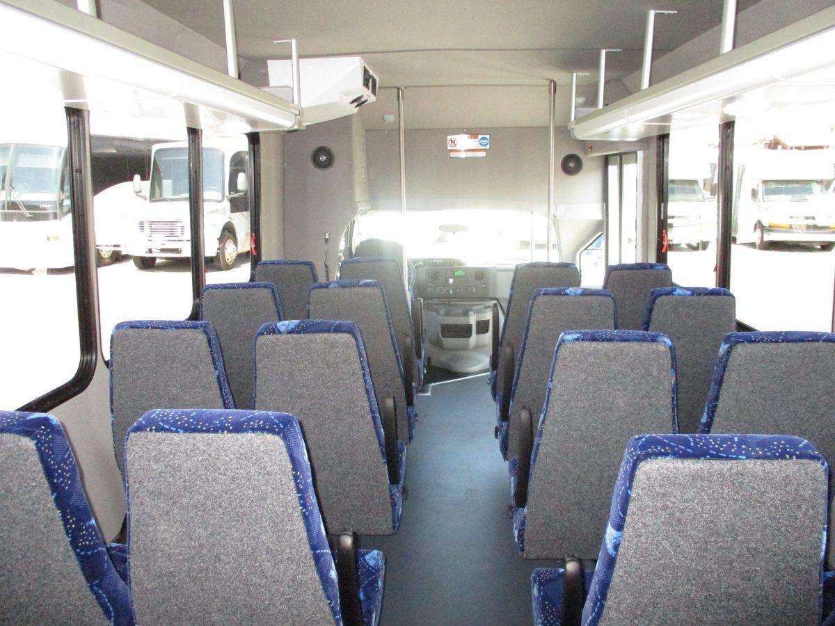 2018 Goshen Impulse Shuttle Bus S32210 Lasvegasbussales Com