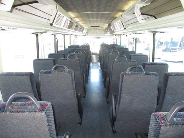View from Back of 2004 MCI D4000 ADA Highway Coach