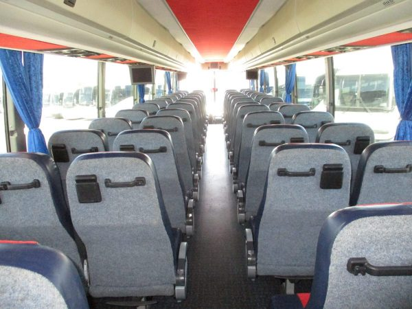 Interior View of 2008 Prevost H3-45 Highway Coach