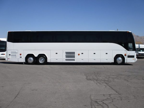 Side of 2008 Prevost H3-45 Highway Coach