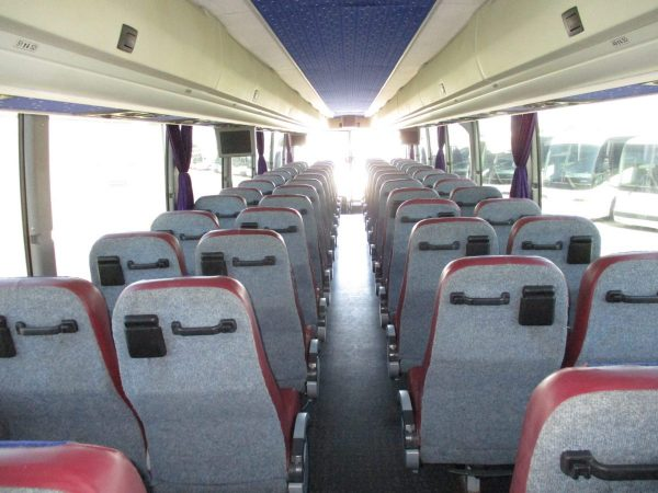 View from Back of 2008 Prevost H3-45 Highway Coach