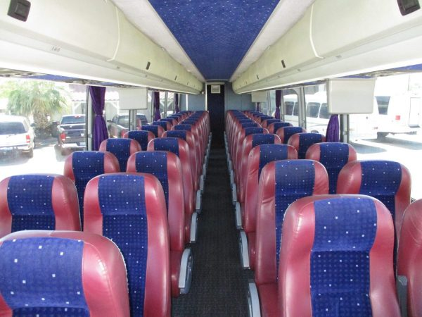 View from Front of 2008 Prevost H3-45 Highway Coach
