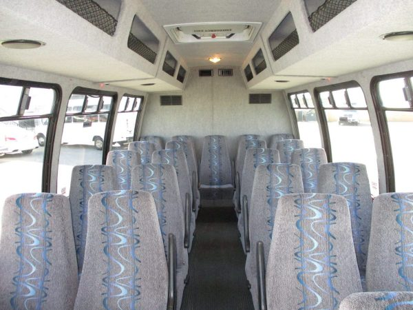 Inside View of 2010 Ameritrans 285 Shuttle Bus