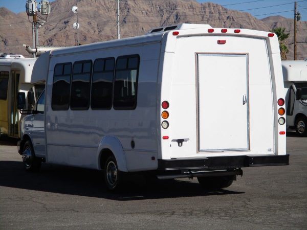 Exterior Shot of 2012 Elkhar Coach ECII Shuttle Bus