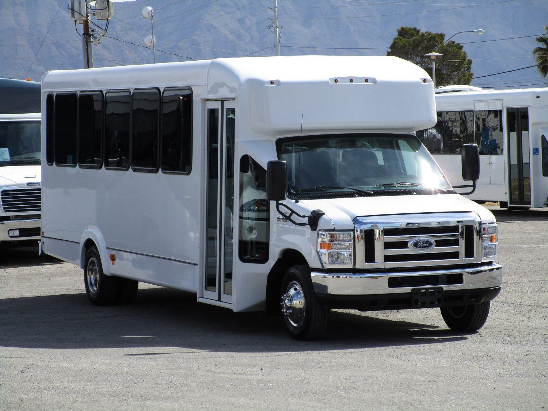 2019 Goshen Impulse Shuttle Bus S17218 Lasvegasbussales Com