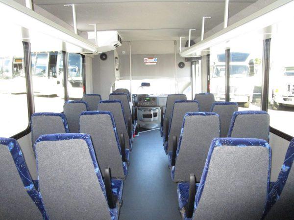 2019 ElDorado Advantage Shuttle Bus Rear Aisle