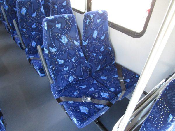 2019 ElDorado Advantage Shuttle Bus Seats
