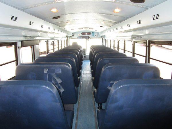 2005 Thomas Saf-T-Liner HDX School Bus Rear Aisle