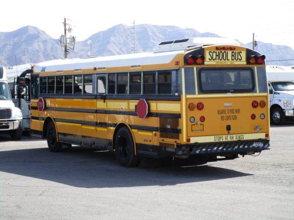 2005 Thomas Saf-T-Liner HDX School Bus Drivers Side Rear