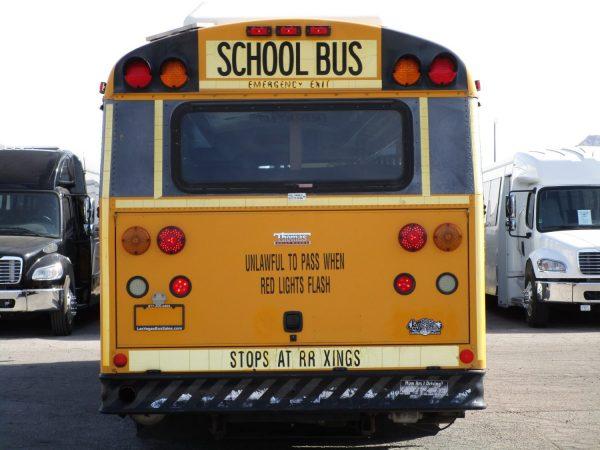 2005 Thomas Saf-T-Liner HDX School Bus Rear