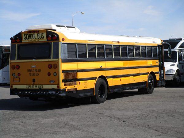 2005 Thomas Saf-T-Liner HDX School Bus Passenger Rear