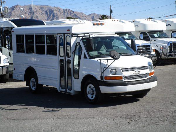 2006 Collins Bus Bantam Daycare Bus Passenger Side Front