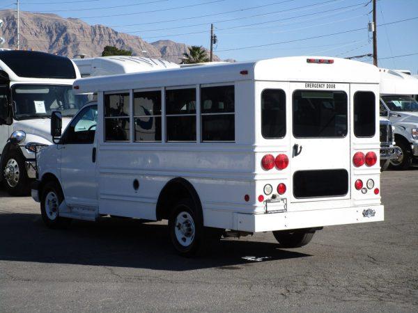 2006 Collins Bus Bantam Daycare Bus Driver Side Rear