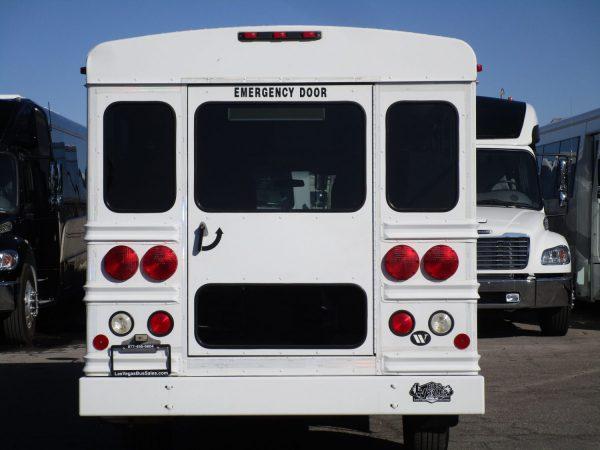 2006 Collins Bus Bantam Daycare Bus Rear