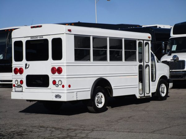 2006 Collins Bus Bantam Daycare Bus Passenger Rear