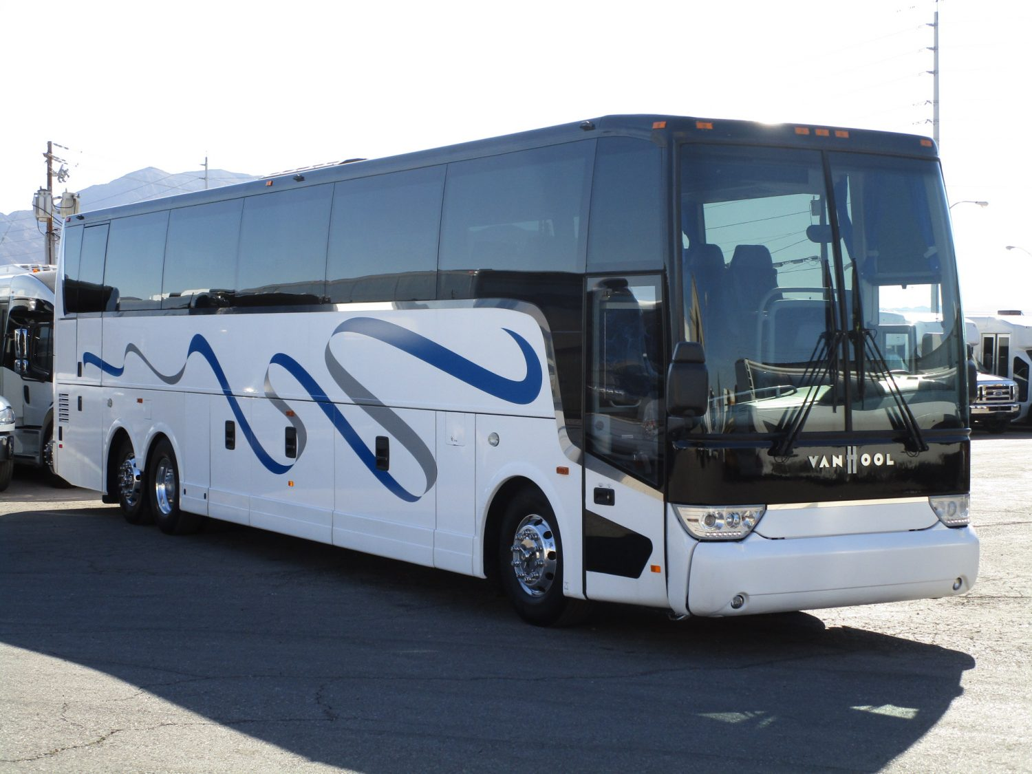 2015 Van Hool TX45 Luxury Highway Coach Passenger Side Front
