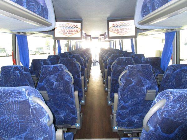2015 Van Hool TX45 Luxury Highway Coach Rear Aisle