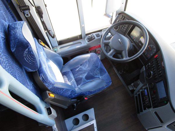 2015 Van Hool TX45 Luxury Highway Coach Drivers Seat
