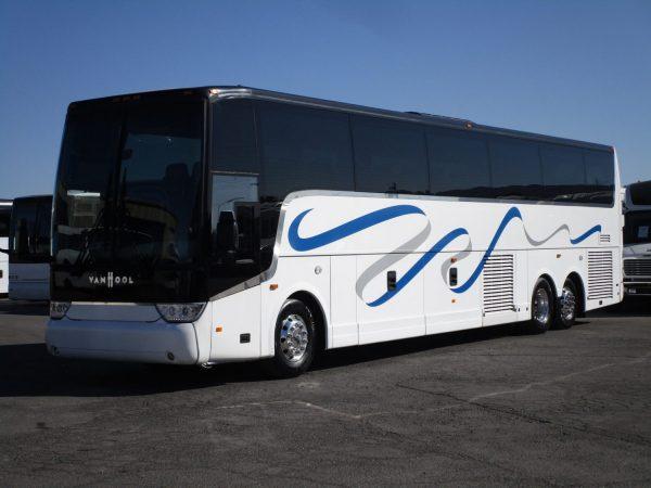 2015 Van Hool TX45 Luxury Highway Coach Drivers Side Front
