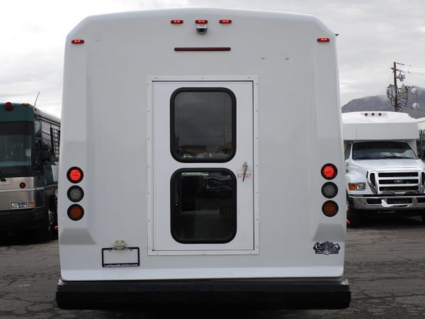 2013 ElDorado Aero Elite Lift Equipped Shuttle Bus Rear