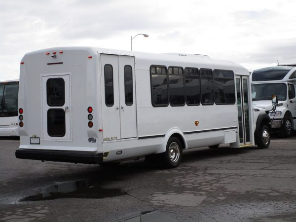2013 ElDorado Aero Elite Lift Equipped Shuttle Bus Passenger Rear