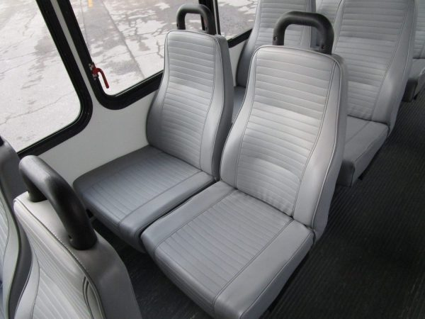 2013 ElDorado Aero Elite Lift Equipped Shuttle Bus Seats