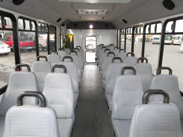 2013 ElDorado Aero Elite Lift Equipped Shuttle Bus Interior Front
