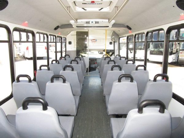2013 ElDorado Aero Elite Lift Equipped Shuttle Bus Rear Aisle