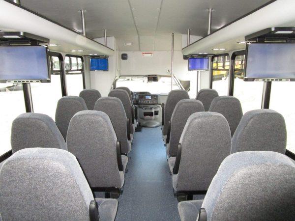2015 Starcraft Allstar Shuttle Bus Interior Rear