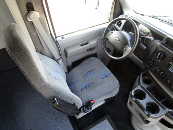2015 Starcraft Allstar Shuttle Bus Drivers Seat