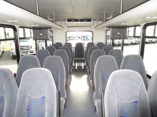 2015 Starcraft Allstar Shuttle Bus Front Aisle