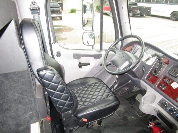 2018 Executive Coach Builders Luxury Shuttle Bus Drivers Seat
