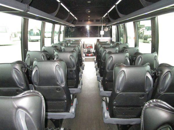 2018 Executive Coach Builders Luxury Shuttle Bus Rear Aisle