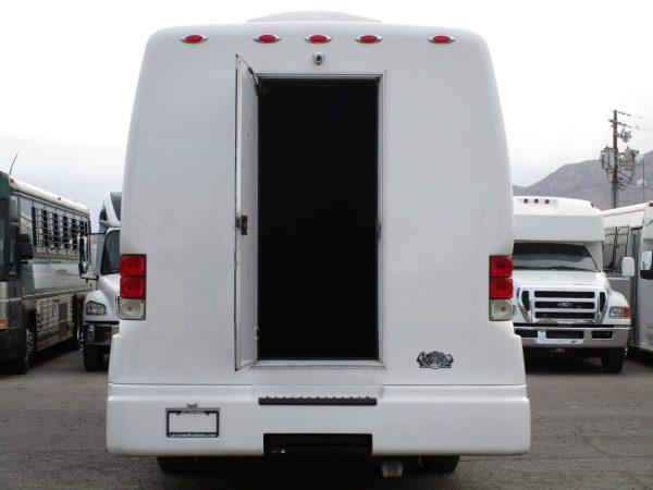 2018 Executive Coach Builders Luxury Shuttle Bus Rear