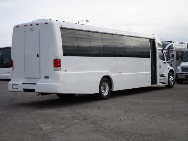 2018 Executive Coach Builders Luxury Shuttle Bus Rear Passenger