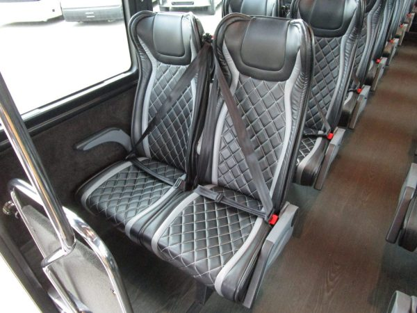2018 Executive Coach Builders Luxury Shuttle Bus Seats