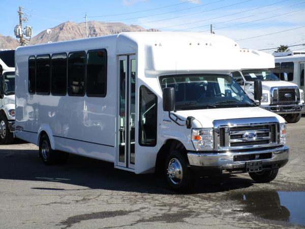 2019 ElDorado Advantage Shuttle Bus Passenger Front