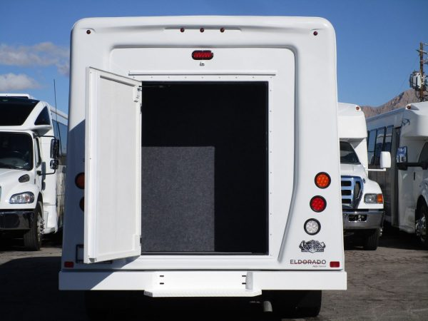 2019 ElDorado Advantage Shuttle Bus Rear Door