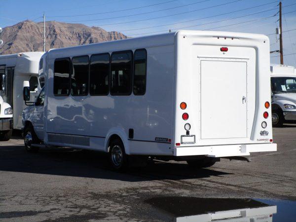 2019 ElDorado Advantage Shuttle Bus Drivers Rear