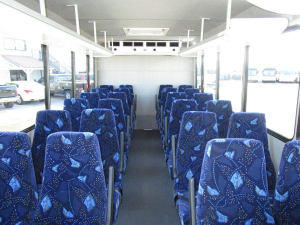 2019 ElDorado Advantage Shuttle Bus Front Aisle