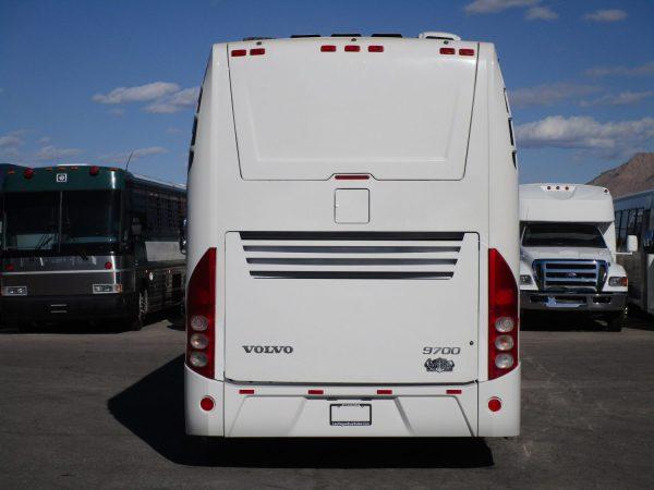 2014 Volvo 9700 Luxury Highway Coach C67539 Rear